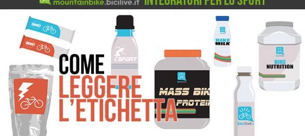 Integratori nel ciclismo: impariamo a leggere l'etichetta