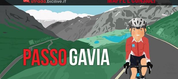 Salita Passo Gavia in bici da corsa: mappa e consigli su come affrontarlo