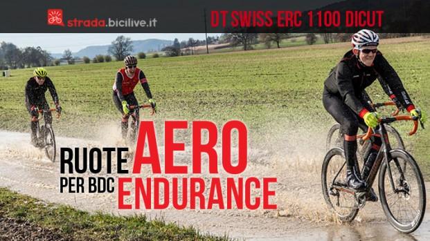DT Swiss ERC 1100 DICUT®, le nuove ruote aero per bici da corsa endurance