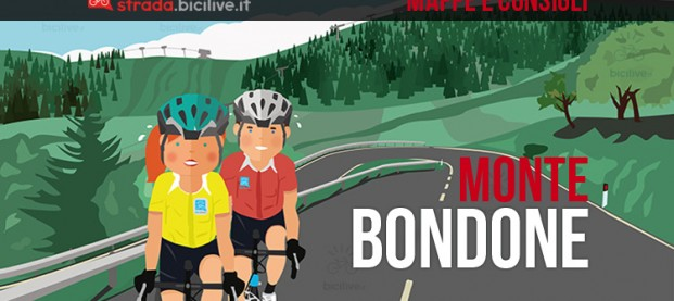 Salita del Monte Bondone in bici da corsa: mappe e consigli su come affrontarlo
