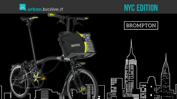 Brompton: bicicletta pieghevole New York City Edition 2017