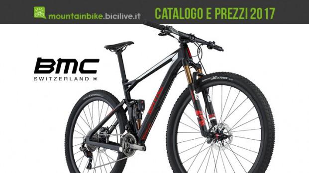 Catalogo e listino prezzi mtb BMC 2017