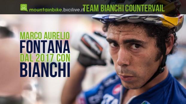 Marco Aurelio Fontana con Bianchi per il 2017