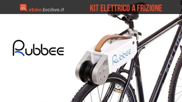Rubbee, il kit di trasformazione elettrico a frizione per bici
