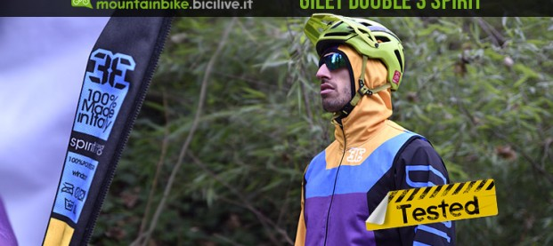 Test gilet smanicato mtb antivento Double3 Spirit