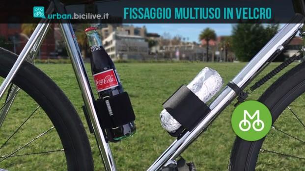 Bike Strap: il fissaggio multiuso in velcro per la tua bici