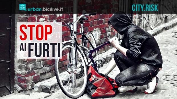 City.Risks: parte da Roma un progetto contro i furti di biciclette