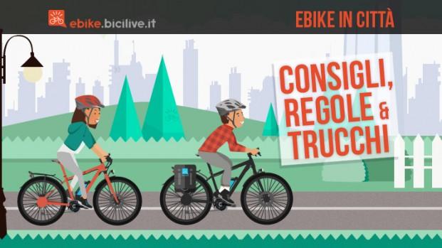 L'ebike in città: consigli, regole, trucchi del mestiere