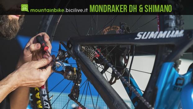 Il team Mondraker DH impiegherà Shimano Saint nel 2017 e 2018