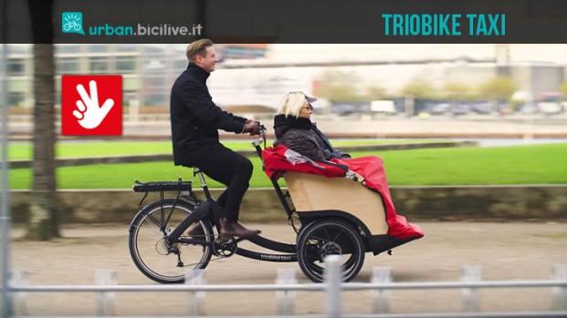 trioBike taxi: un divano su tre ruote
