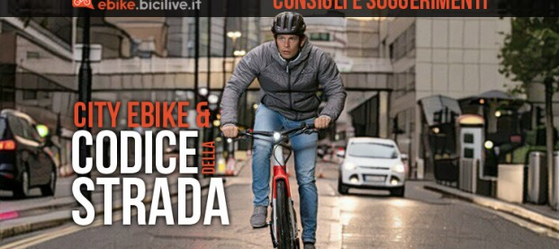 Le city bike a pedalata assistita e il Codice della Strada: consigli e suggerimenti