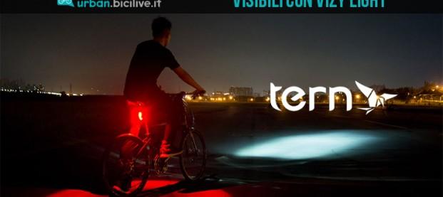 Più sicuri in strada al buio con Vizy Light di Tern