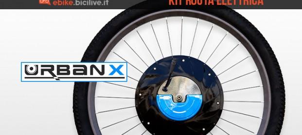 UrbanX: la motoruota per convertire la bici in soli 60 secondi