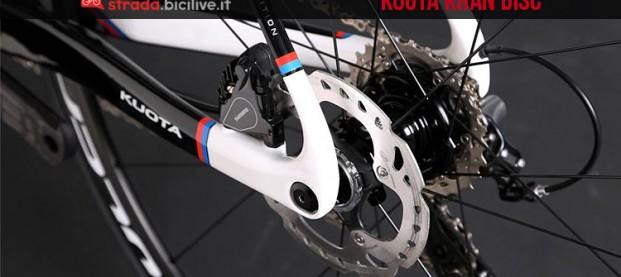 Kuota Khan Disc: la bicicletta da corsa con freni a disco