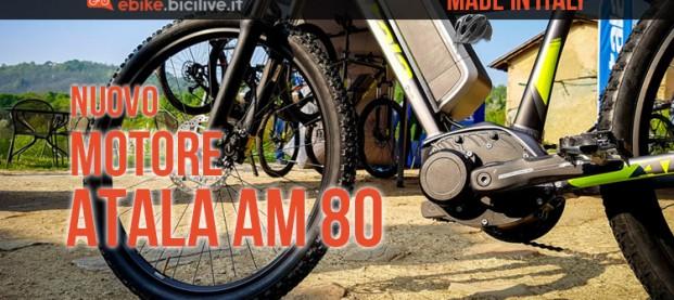 Atala AM80, il motore per ebike made in Italy da 83 Nm di coppia