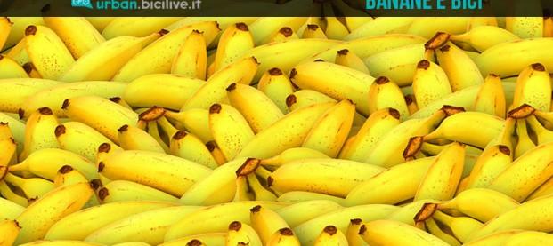 Banane: una buona alternativa per il ciclista?
