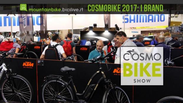 I grandi brand del settore ciclo a CosmoBike Show 2017