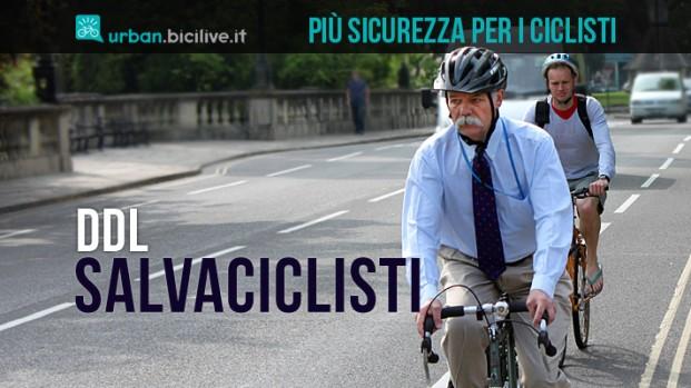 Ddl salvaciclisti: entro l'anno un codice della strada più attento alla due ruote