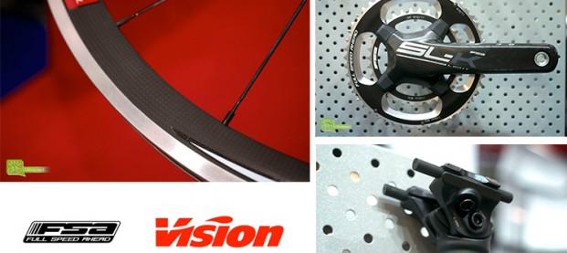 FSA Vision, a Expobici componenti e ruote per tutte le tasche