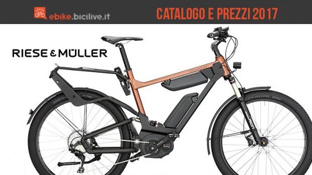 Bici elettriche Riese&Müller: catalogo e listino prezzi 2017