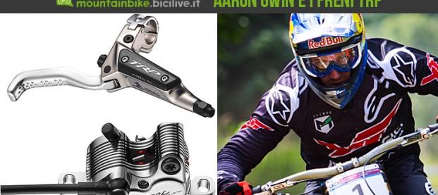 """TRP """"G-Spec"""": i freni a disco per mountain bike sviluppati da Aaron Gwin"""