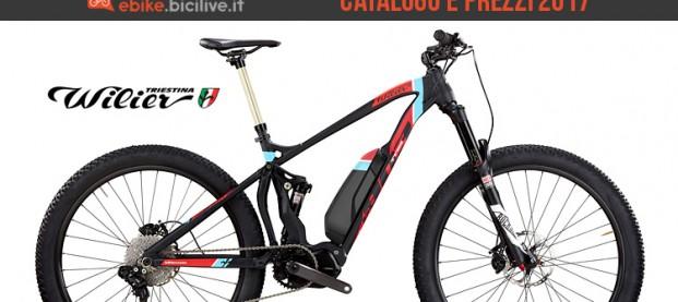 Bici elettriche Wilier Triestina: catalogo e listino prezzi 2017