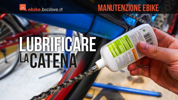 Come lubrificare correttamente la catena della vostra eMTB