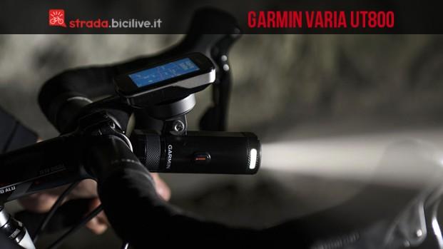 Garmin Varia UT800: la luce smart da 800 lumen