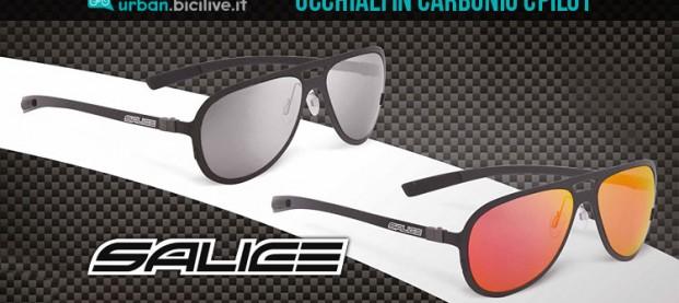 Occhiali Cpilot Salice: 16 grammi di carbonio hi-tech