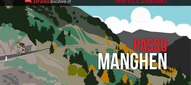 Passo Manghen in bici da corsa: mappe e consigli su come affrontarlo