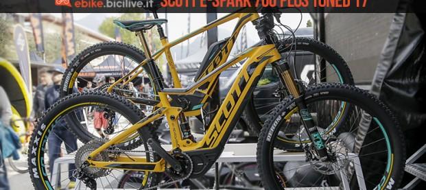 Scott E-Spark 700 Plus Tuned 2017, candidata a migliore ebike 2017