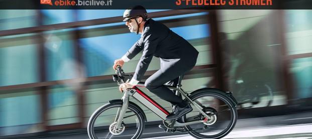 Urban ebike Stromer ST2 S: 45 km/h, frenata rigenerativa e sistema antifurto