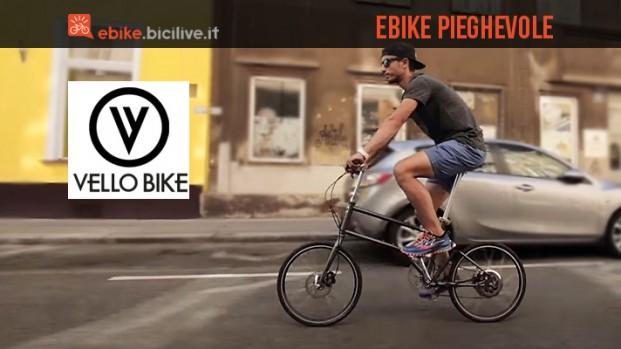 Vello Bike+: la prima eBike pieghevole motorizzata Zehus
