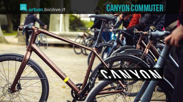 Canyon Commuter: il piacere di pedalare in città