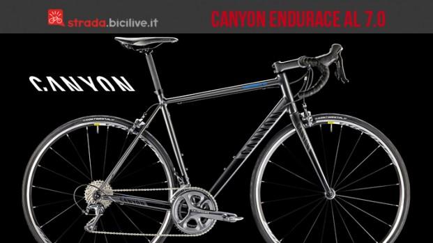 Canyon Endurace AL 7.0: comfort, prestazioni e qualità prezzo