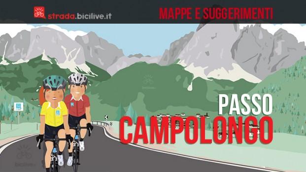 Passo Campolongo in bici da corsa: mappe e consigli su come affrontarlo