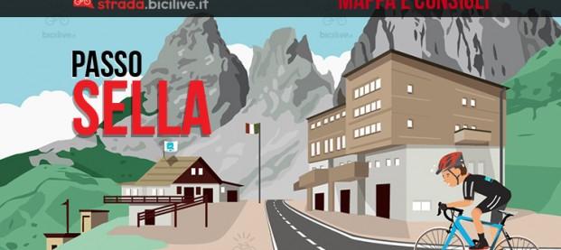 Il passo Sella in bdc: consigli, mappe e tracce GPS scaricabili