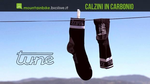 Carbon-Socks: da Tune arrivano le calze al carbonio