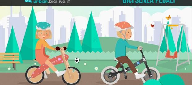 Bici senza pedali: cosa sono e come sceglierle