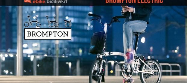 Brompton Electric: la prima bici pieghevole elettrica del brand inglese
