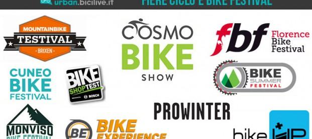 Tutte le fiere della bici e i bike festival italiani del 2017-2018