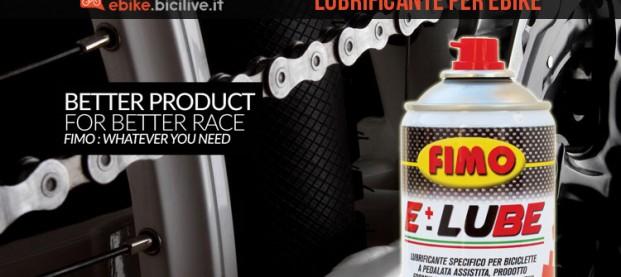 E-Lube, il lubrificante specifico per biciclette a pedalata assistita
