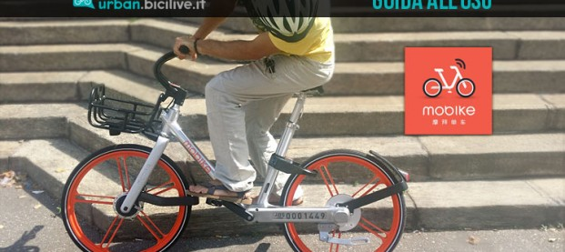 Guida all'uso del bike sharing libero di Mobike