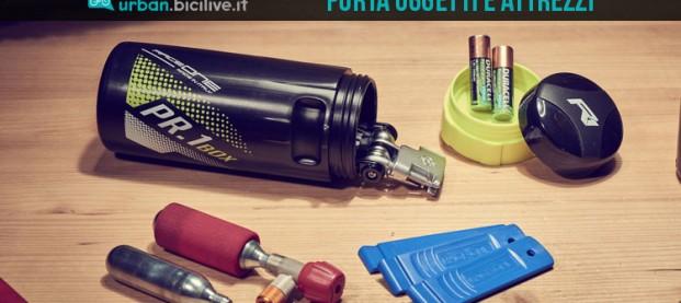 Porta attrezzi e oggetti per bici Raceone PR1 e PR2 Box