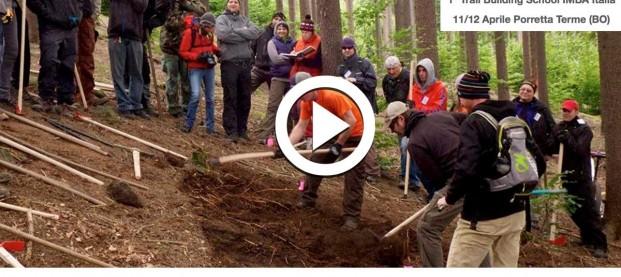 Audioshow: la prima Scuola di Trail Building di IMBA Italia
