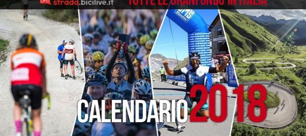Calendario completo Granfondo ciclismo 2018