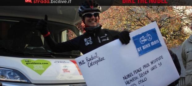 Bike the Nobel, la bicicletta candidata al premio per la Pace 2016