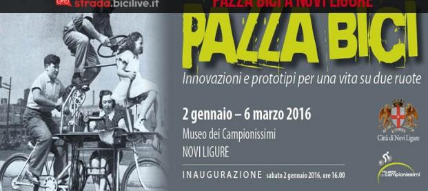 """""""Pazza Bici"""": un'originale mostra al Museo dei Campionissimi di Novi Ligure"""