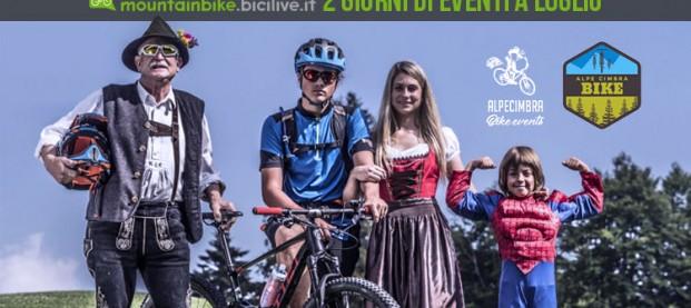 Alpe Cimbra Bike Events 2018, a luglio due giorni di eventi per i biker