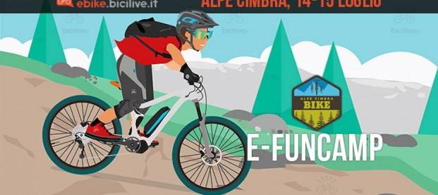e-FunCamp di ebike.bicilive.it all'Alpe Cimbra Bike Events 2018